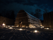 Longhouse at First Light