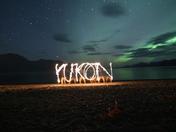 Yukon Light Painting