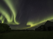 The Beauty of the Northern Lights in the Country