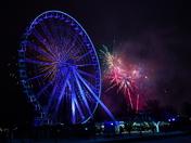 2019 New Year fireworks.