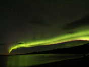 Northern Lights Over Kluane Lake, Yukon