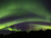 Northern Lights Panoramic