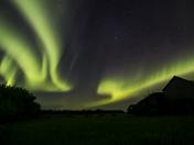 Rural Saskatchewan Aurora