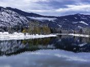 Shuswap River Winter Color