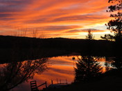 Sunset on the Bonnechere River