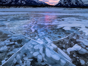 Bubbles at Abraham Lake