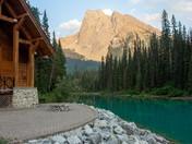 Cabin at Emerald Lake