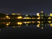 Saskatoon Skyline Reflection