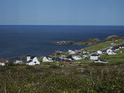 Looking over Grates Cove, Newfoundland