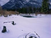 Snowy Rocks, Misty Mountain