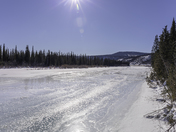 Mile 0 on Dempster Highway in the Yukon