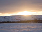 Watching the Sun in the Artic