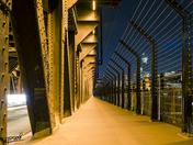 High Level Bridge at night 2