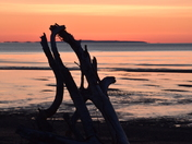 Sunrise over the Bay of Fundy