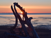 Sunrise on the Bay of Fundy