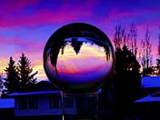 Lensball Image