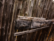 Very old fence