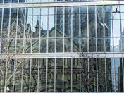 Church Reflection in Toronto