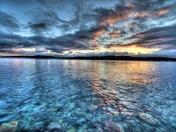 Green's harbour sunrise