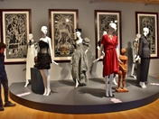 Fashion in dialog with art.