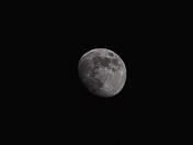 Shot of the moon  - may 2019