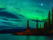 Lake Laberge Aurora