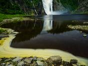 Foamy falls