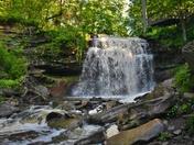 Smokey Hollow Waterfall.