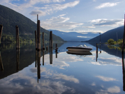 Moored on Kootenay lake