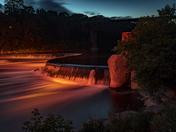 Penman's Dam Light Show
