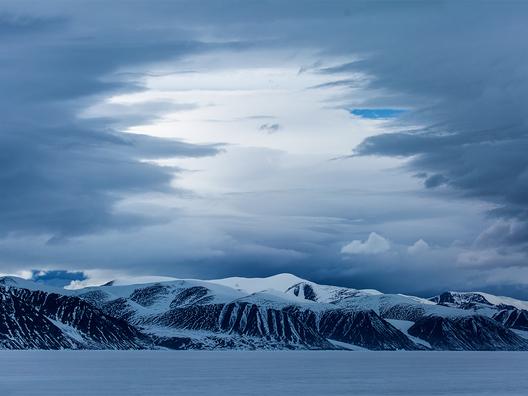 _Baffin Island_Mountains at Ice Edge_Eclypse Sound_