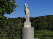 Statue Of Blue Heron
