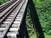 Abandoned Railway Trestle