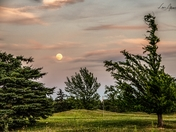 Full Moon Over the 15th
