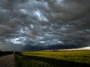 A Saskatchewan Prairie Storm
