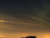 Night sky in Elk Island