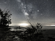 Black & White Milky Way