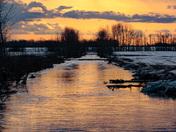 Flooded Sunset
