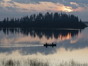 Elk Island Sunset