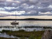 Canal Beach,Lake Utopia, NB