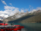 Preparing For The Day, in Banff National Park
