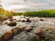 Nose Creek Sunset