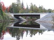 Bridge Reflecting in Water