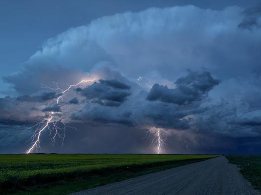 Lightning Crashes...