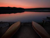 Sunrise at Kettle Lake in Awenda PP