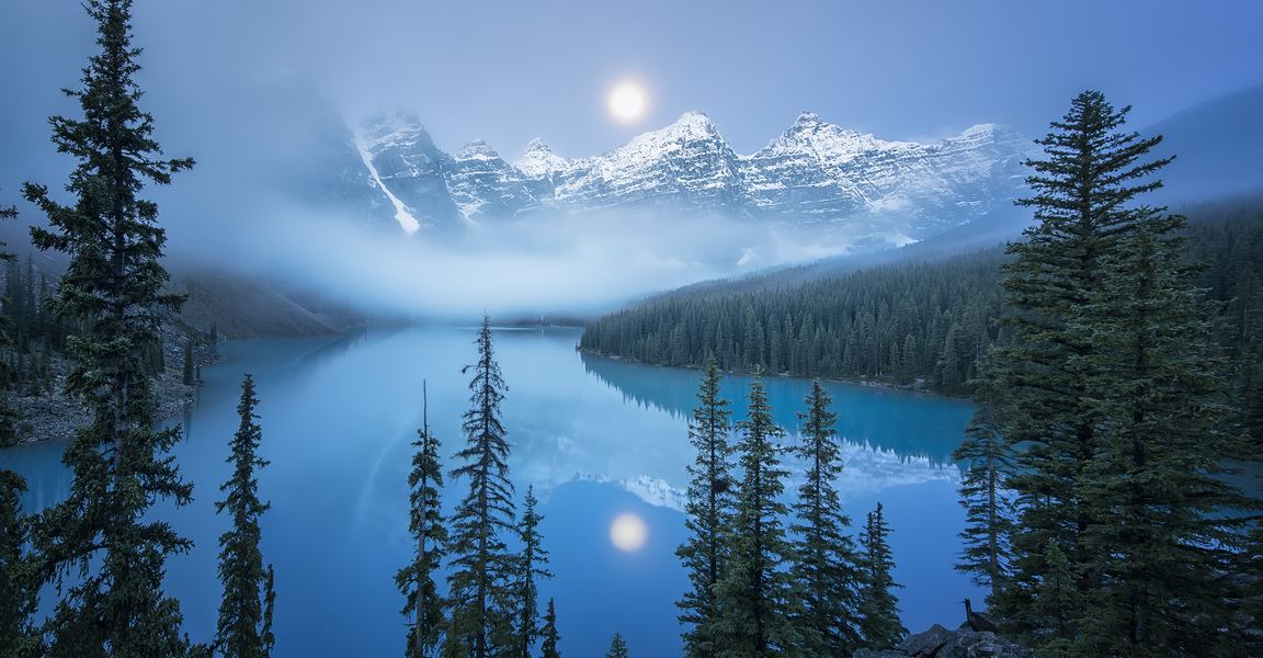 Dream morning on Moraine Lake