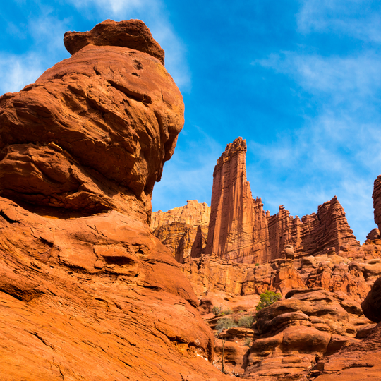 Fisher Towers National Recreation Trail
