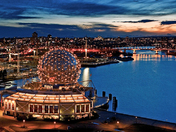 Science World at Dusk
