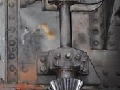gears on rotating bridge