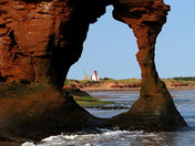 The teacup in Darnley,P.E.I..........the twin shores lighthouse is in view.